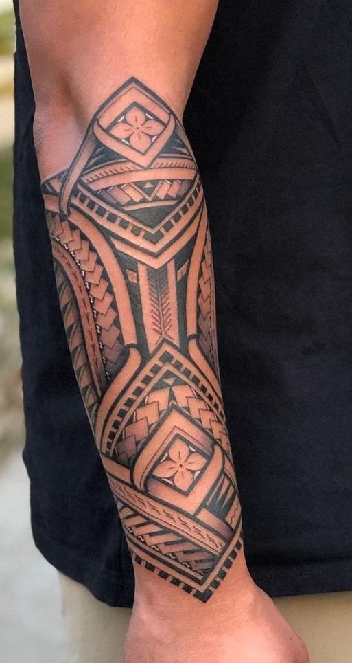 Tribal Tattoo on Forearm