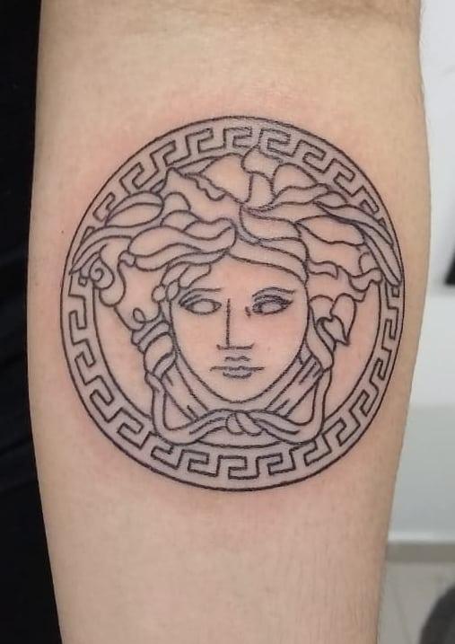 Versace Medusa Tattoo