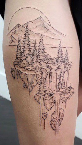 Nature Tattoos Meanings Tattoo Designs Ideas