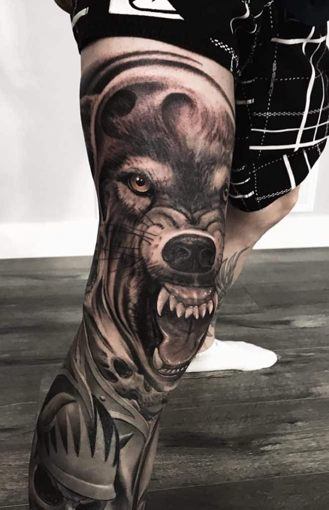 Wolf Tattoo For Men