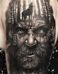 Wolves of Odin Tattoo