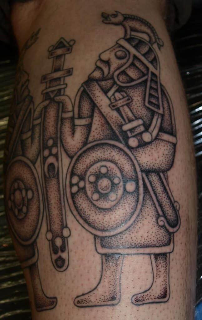 Boar Warrior Tattoo