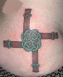 Brigid Cross Tattoo