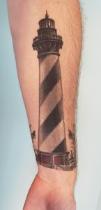 Cape Hatteras Lighthouse Tattoo