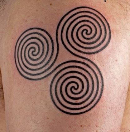 Celtic Spiral Knots Tattoo