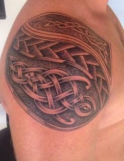 Celtic Tattoos on Shoulder