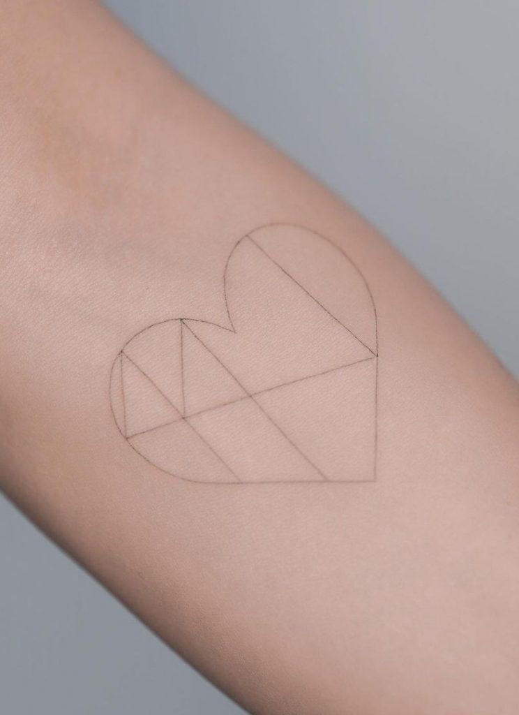 Feminine Geometric Tattoo