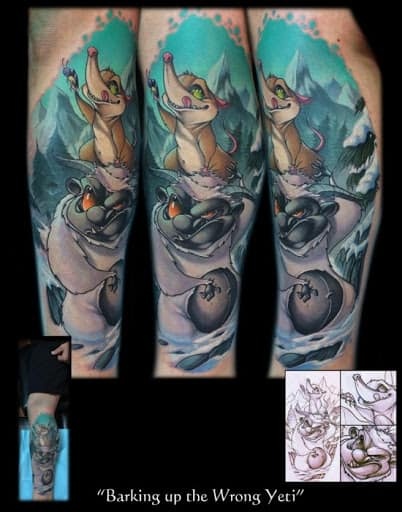 Frank LaNatra Tattoo