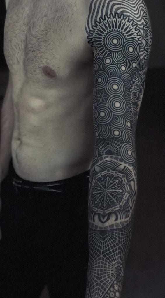 Geometric Tattoo Sleeve