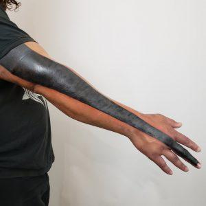 Heavy Black-work Tattoo