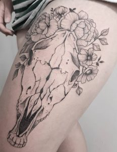 Horse Skull Tattoo