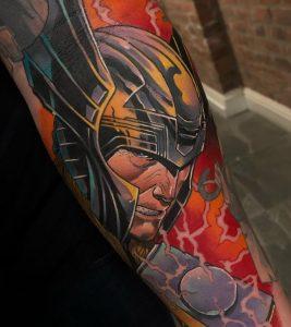 Illustrative Viking Tattoo