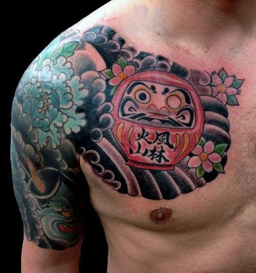 Japanese Tattoo on Chest