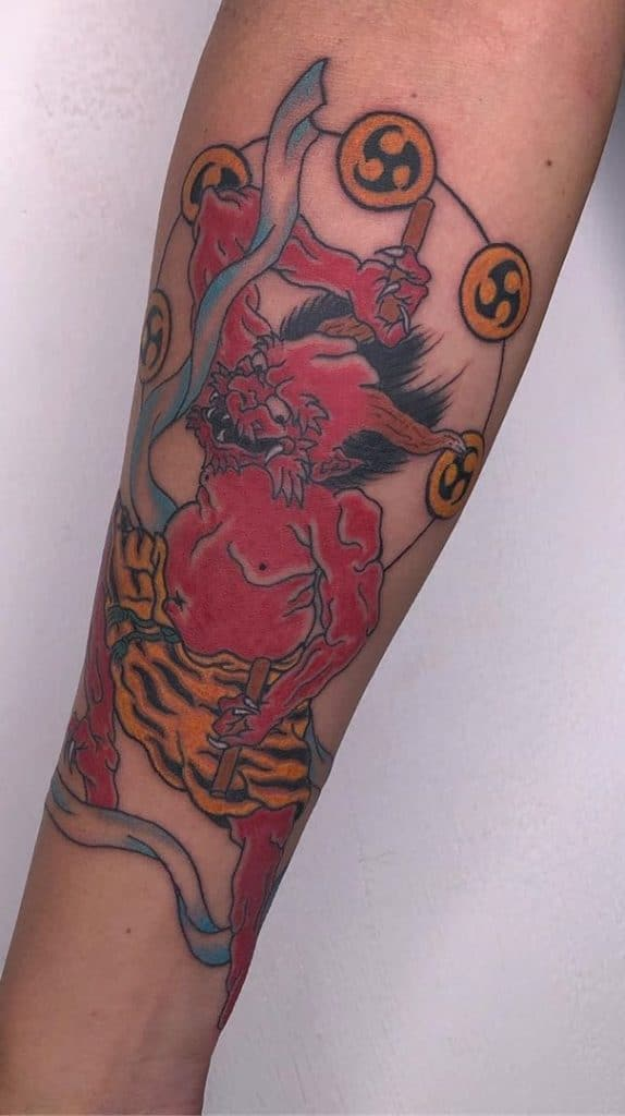 Japanese Tattoo on Forearm