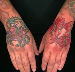 Japanese Tattoo on Hand
