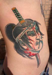 Japanese Tattoo on Side