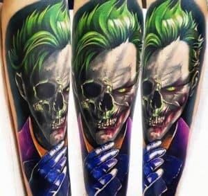Joker Skull Tattoo