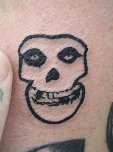 Misfits Skull Tattoo