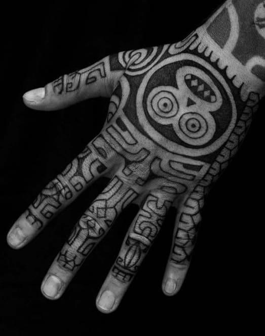 Tribal Monkey Tattoo
