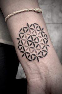 Sacred Geometry Black-work Tattoo