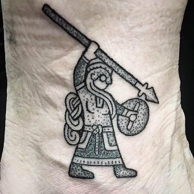 Shield Maiden Tattoo