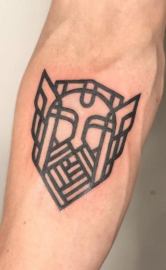 Simple Viking Tattoo