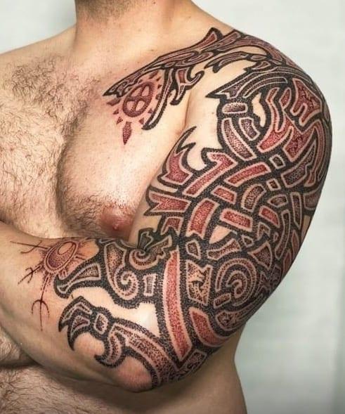 Skoll and Hati Tattoo