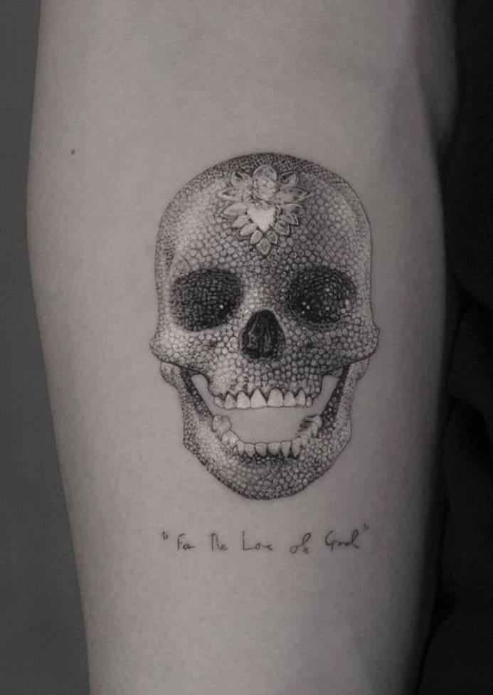 Skull Tattoo For Women