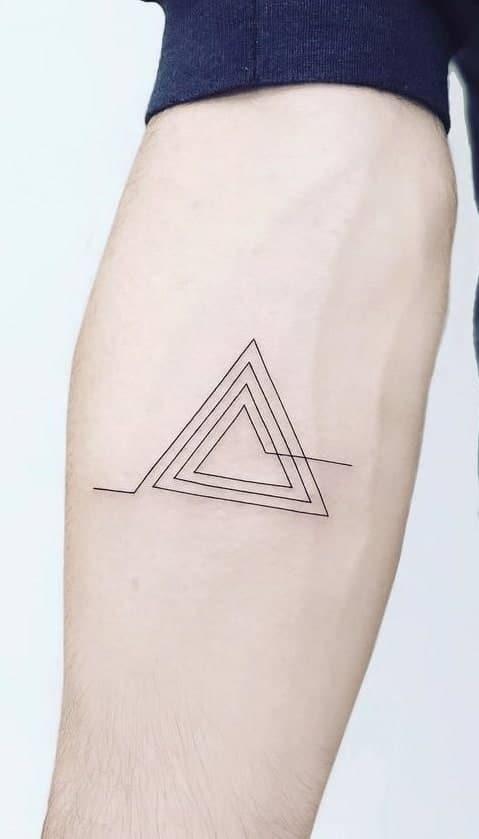 Small Geometric Tattoo
