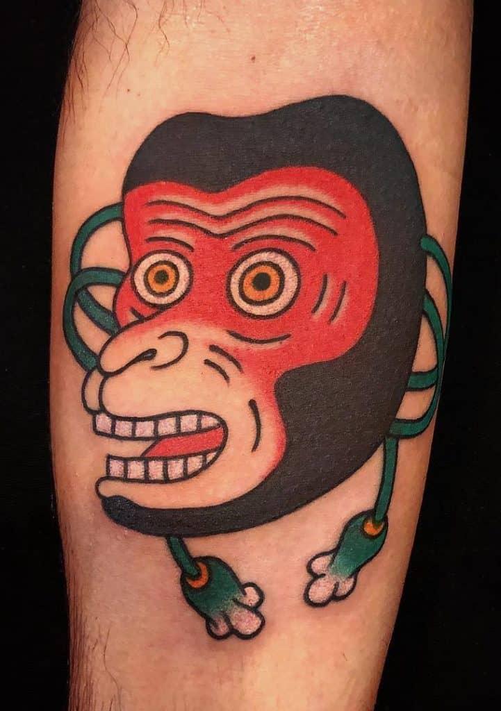 Small Japanese Tattoo