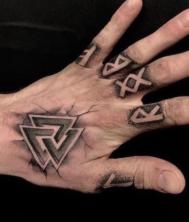 Small Viking Tattoo
