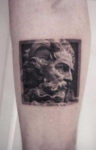 Small Zeus Tattoo