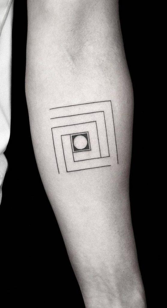 Square Tattoo