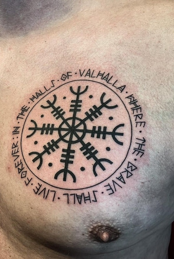 The Helm Of Awe Tattoo