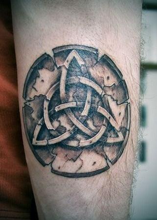 Triquetra Tattoo
