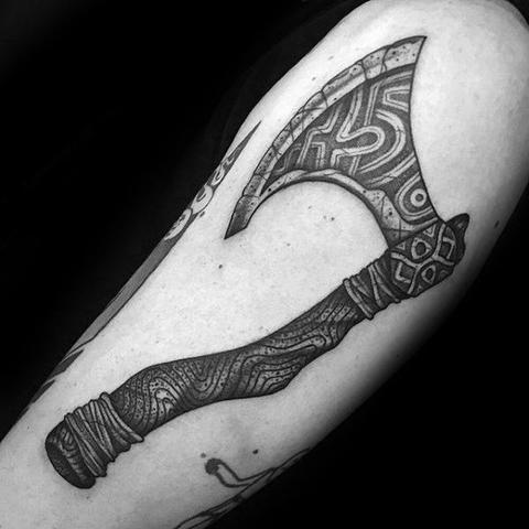 Viking Axe Tattoo