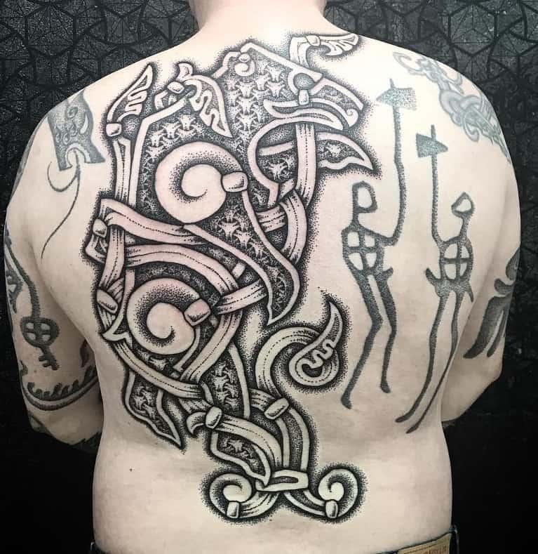 Viking Bear Tattoo