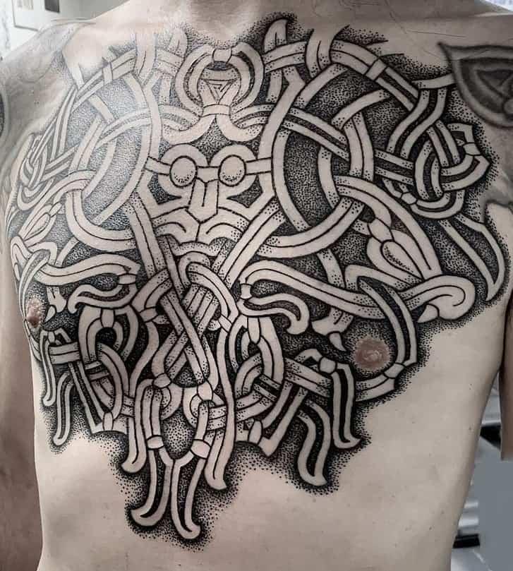 Viking Mammen Tattoo