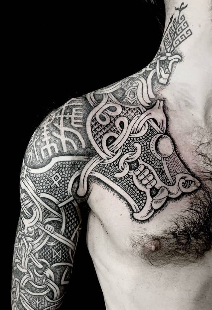 Viking Oseberg Tattoo