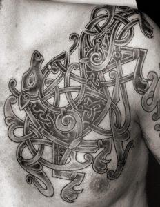 Viking Ringerike Tattoo