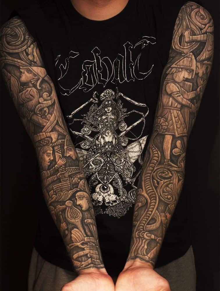 Viking Tattoo Sleeve