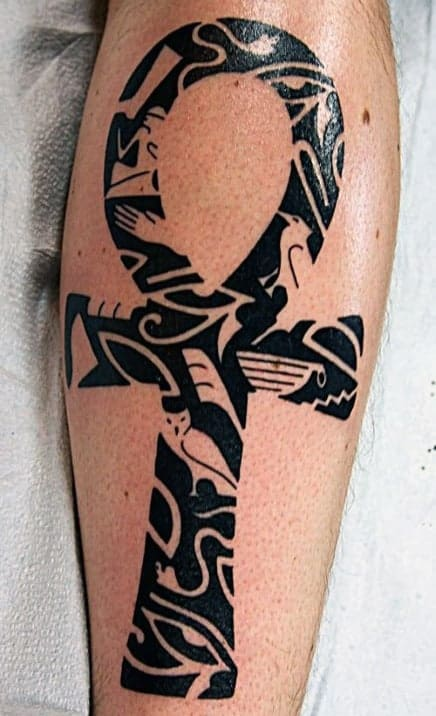 Egyptian Ankh Tattoo