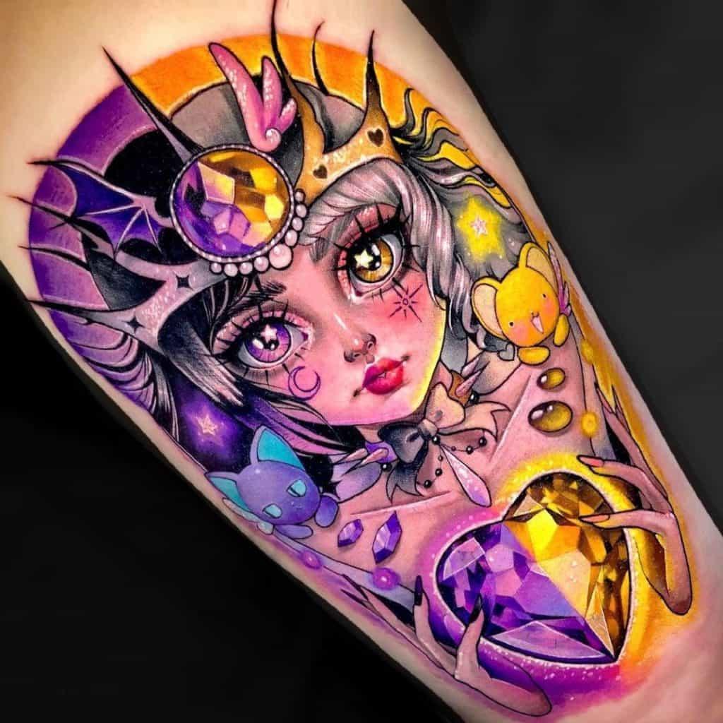 Cardcaptor Sakura Tattoo