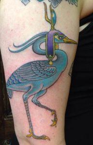 Egyptian Phoenix Tattoo