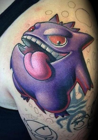 Gengar Tattoo