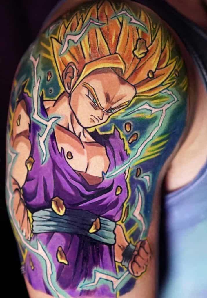 Gohan Tattoo