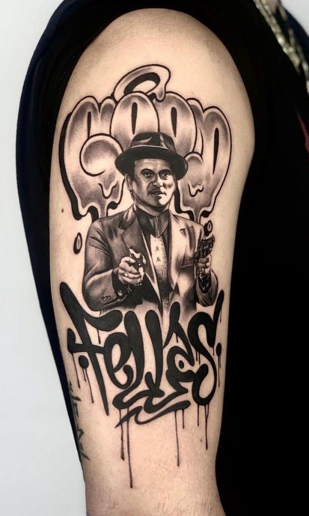 Graffiti Lettering Tattoo