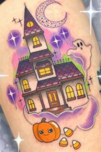 Halloween Tattoo