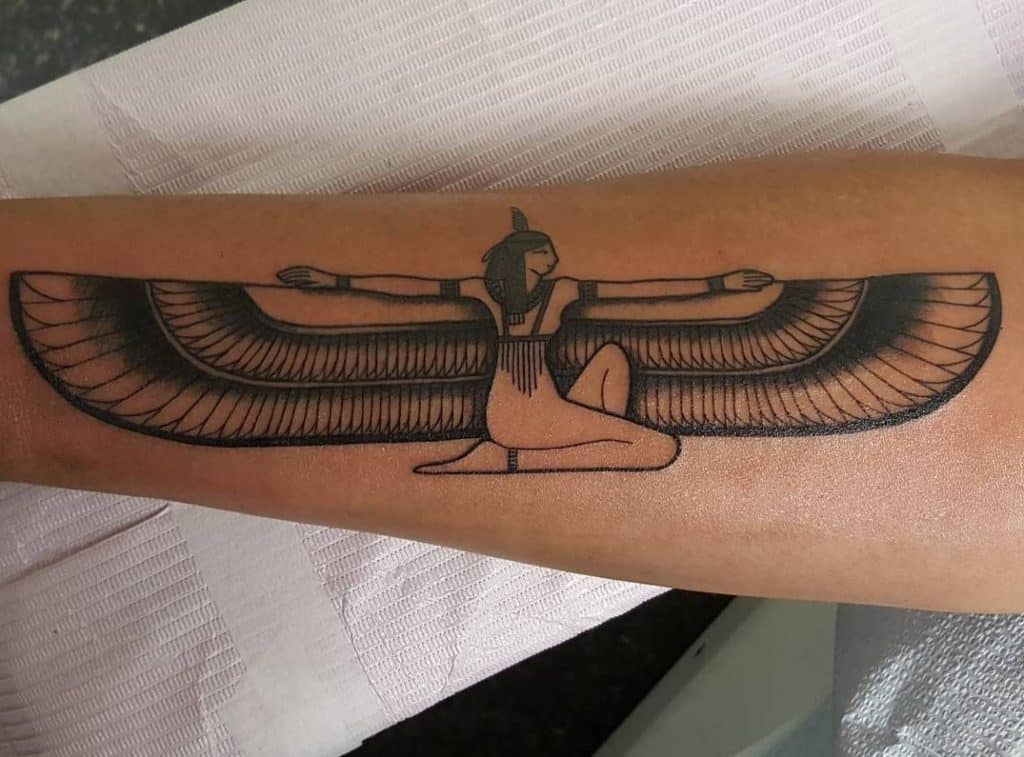 Isis Tattoo on Forearm