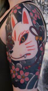 Japanese Kitsune Tattoo